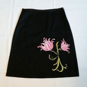 Charlotte Russe Embroidery Skirt